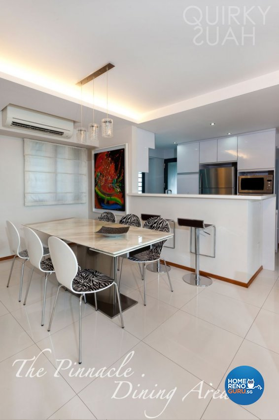 Modern Design - Dining Room - HDB 4 Room - Design by Quirky Haus Pte Ltd
