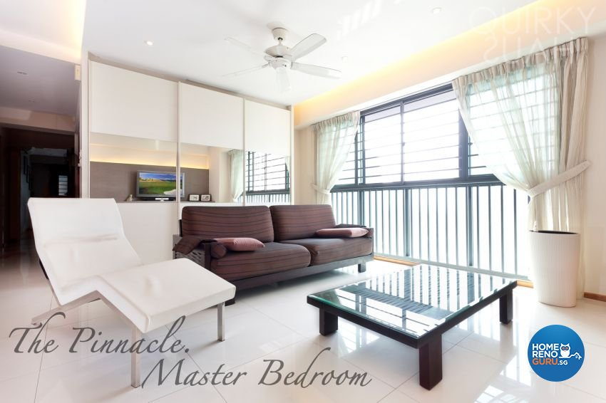 Modern Design - Living Room - HDB 4 Room - Design by Quirky Haus Pte Ltd