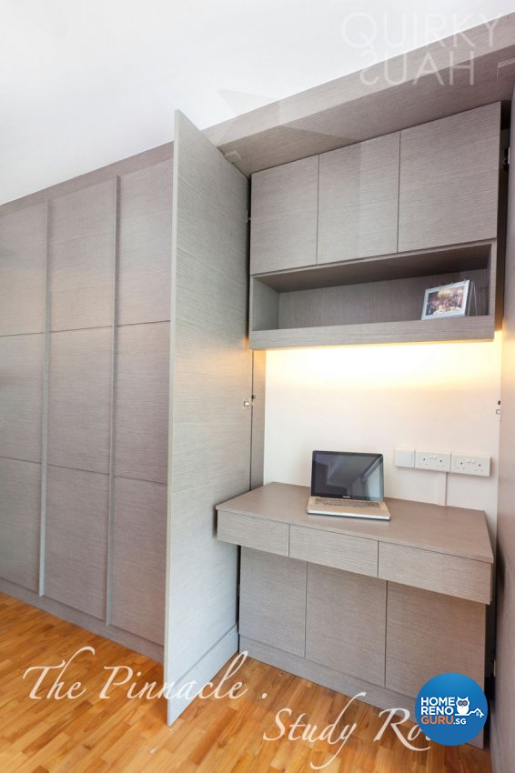 Modern Design - Study Room - HDB 4 Room - Design by Quirky Haus Pte Ltd