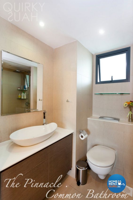 Modern Design - Bathroom - HDB 4 Room - Design by Quirky Haus Pte Ltd