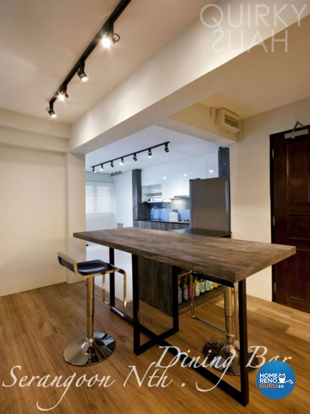 Minimalist Design - Dining Room - HDB 5 Room - Design by Quirky Haus Pte Ltd