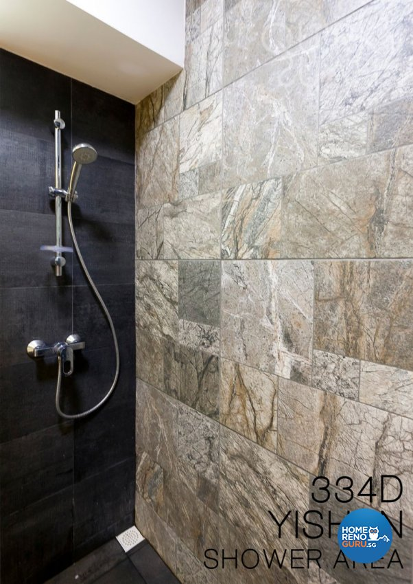 Minimalist, Modern Design - Bathroom - HDB 4 Room - Design by Quirky Haus Pte Ltd
