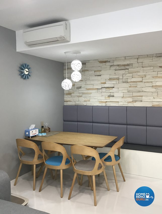 Contemporary Design - Dining Room - Condominium - Design by R360 Degree Design Pte Ltd