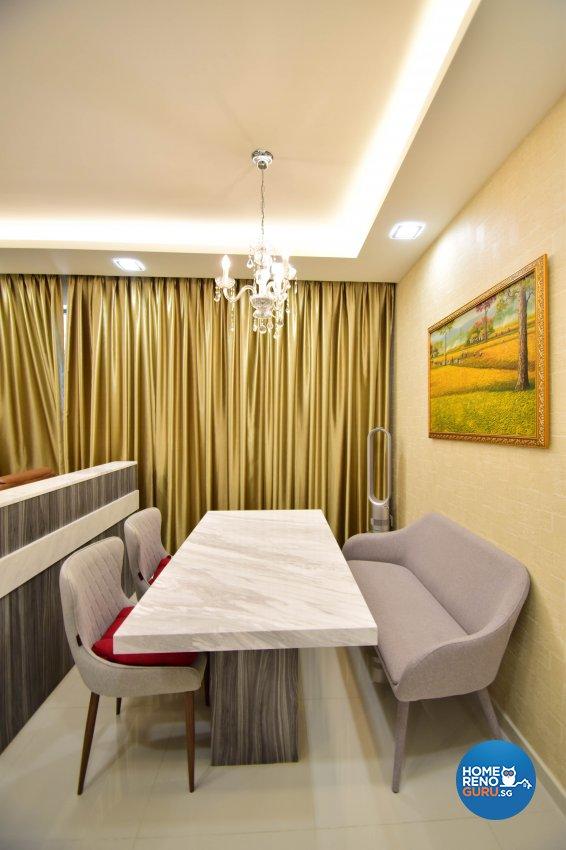 Contemporary Design - Dining Room - Condominium - Design by R360 Degree Design Pte Ltd