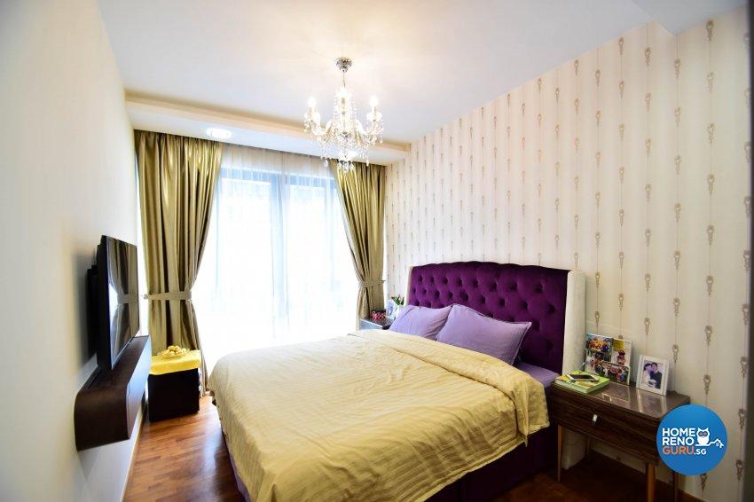Contemporary Design - Bedroom - Condominium - Design by R360 Degree Design Pte Ltd