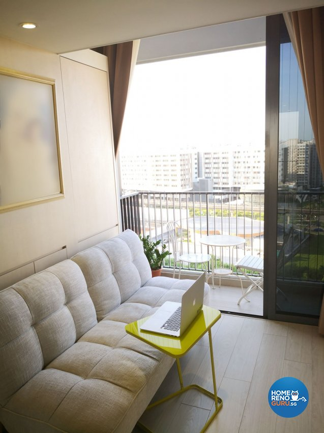 Classical, Modern Design - Balcony - HDB Executive Apartment - Design by R&C Design Solution