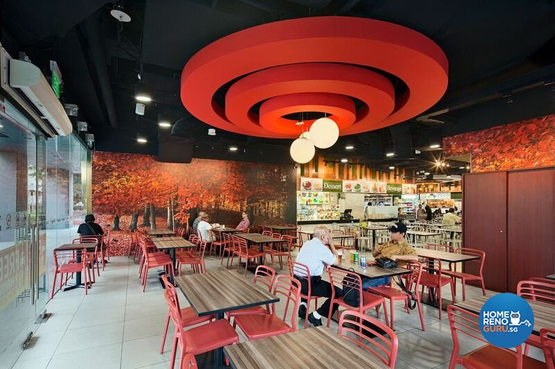 Classical Design - Commercial - F&B - Design by R&C Design Solution