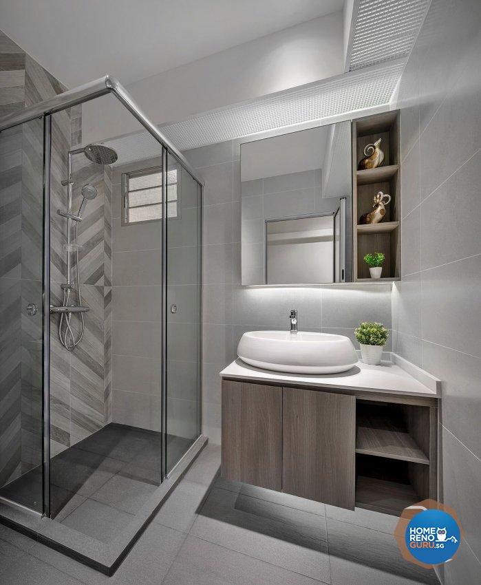 Contemporary Design - Bathroom - Retail - Design by R&C Design Solution