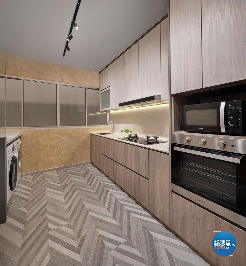 Contemporary Design - Kitchen - Retail - Design by R&C Design Solution