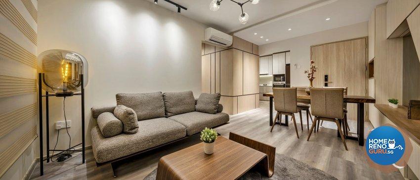 Contemporary Design - Living Room - Retail - Design by R&C Design Solution