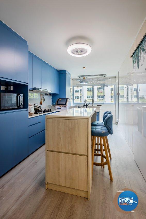 Classical, Modern Design - Kitchen - HDB 4 Room - Design by R&C Design Solution
