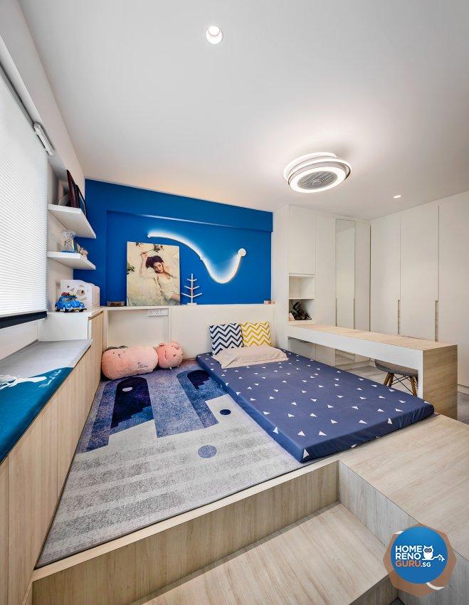 Classical, Modern Design - Bedroom - HDB 4 Room - Design by R&C Design Solution