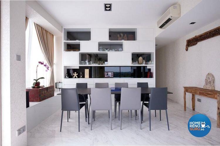 Minimalist, Modern, Scandinavian Design - Dining Room - Condominium - Design by Renozone Interior Design House