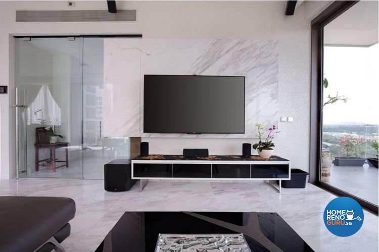 Minimalist, Modern, Scandinavian Design - Living Room - Condominium - Design by Renozone Interior Design House