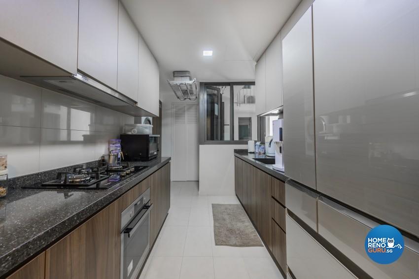 Contemporary, Modern Design - Kitchen - Condominium - Design by Renozone Interior Design House