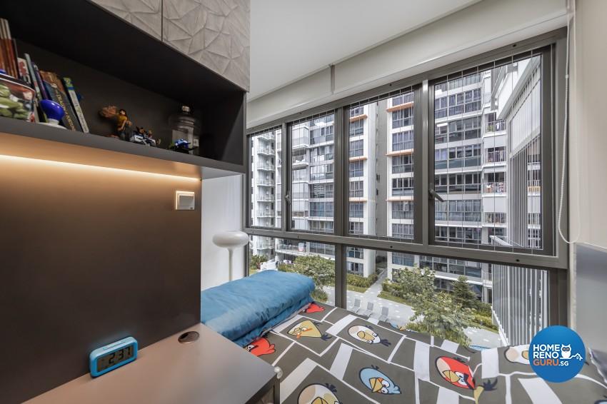 Contemporary, Modern Design - Bedroom - Condominium - Design by Renozone Interior Design House