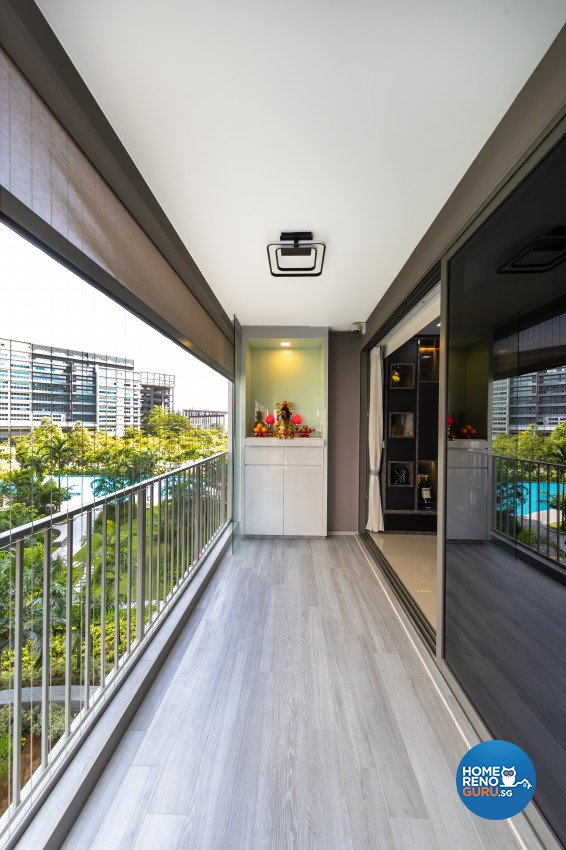 Contemporary, Modern Design - Balcony - Condominium - Design by Renozone Interior Design House