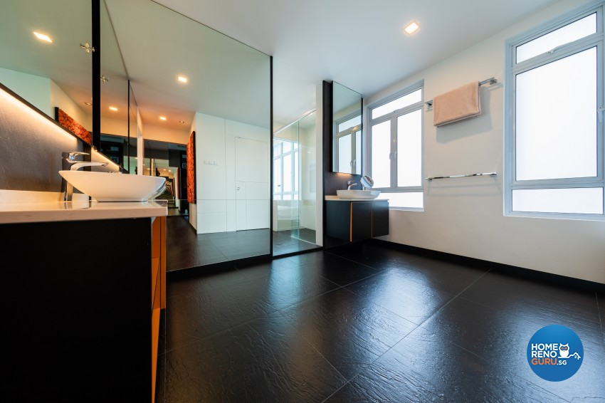Modern Design - Bathroom - Condominium - Design by Renozone Interior Design House