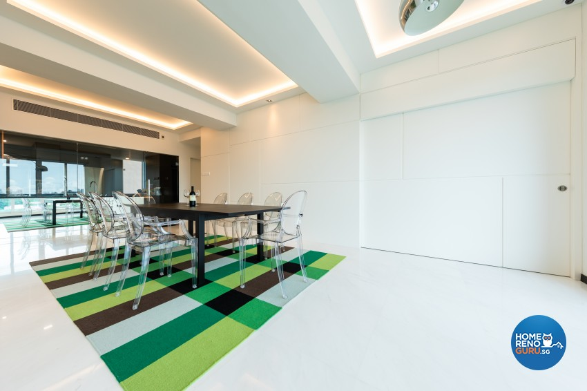 Modern Design - Dining Room - Condominium - Design by Renozone Interior Design House