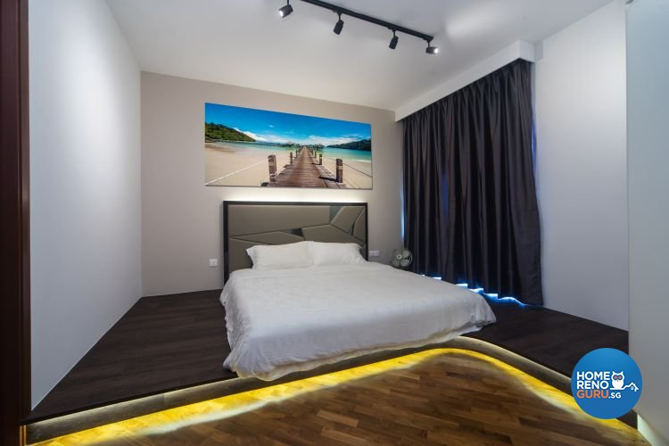 Industrial, Scandinavian Design - Bedroom - Condominium - Design by Renozone Interior Design House