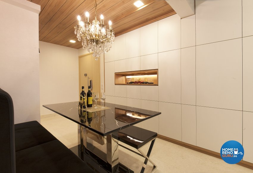 Classical, Retro Design - Dining Room - Condominium - Design by Renozone Interior Design House