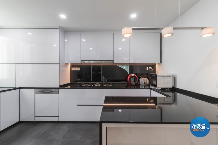 Modern Design - Kitchen - Condominium - Design by Renozone Interior Design House