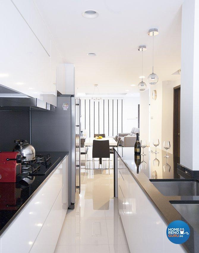 Classical, Minimalist, Modern Design - Kitchen - Landed House - Design by Renozone Interior Design House