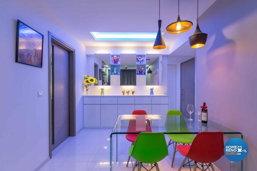 Modern Design - Dining Room - Condominium - Design by Renozone Interior Design House
