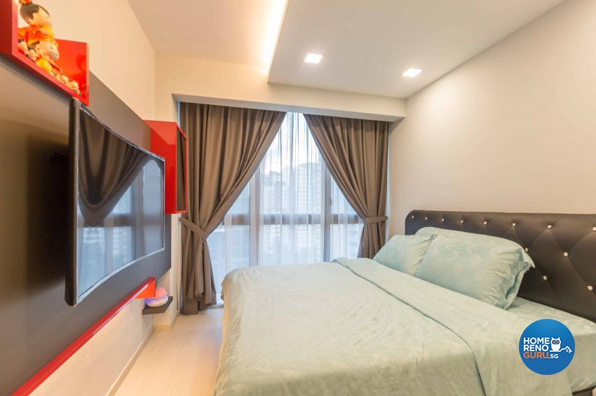 Modern Design - Bedroom - Condominium - Design by Renozone Interior Design House