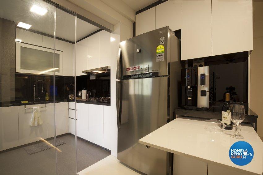 Classical, Contemporary, Modern Design - Kitchen - HDB 5 Room - Design by Renozone Interior Design House