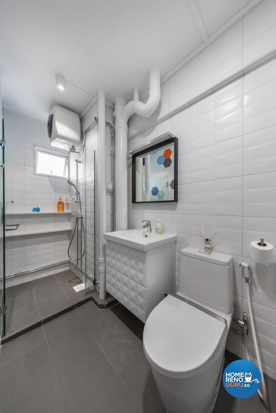 Contemporary Design - Bathroom -  - Design by Renozone Interior Design House