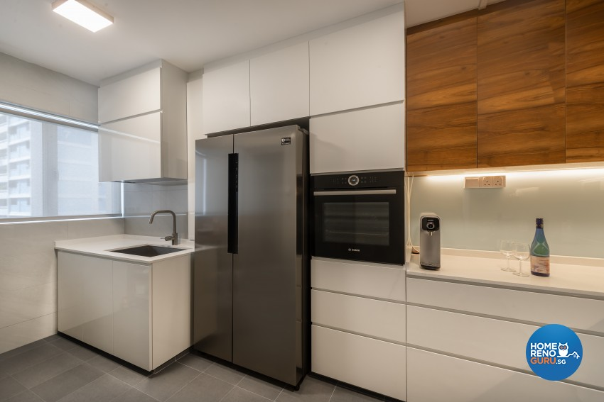 Contemporary Design - Kitchen -  - Design by Renozone Interior Design House