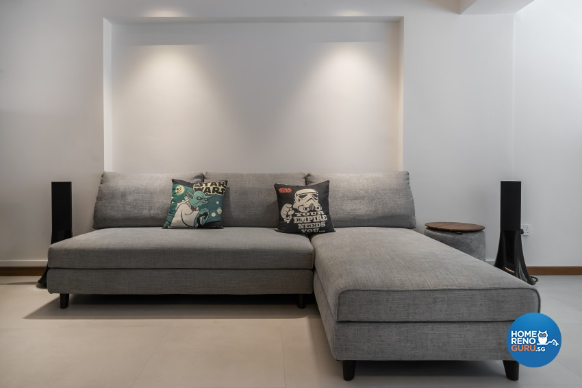 Contemporary Design - Living Room -  - Design by Renozone Interior Design House