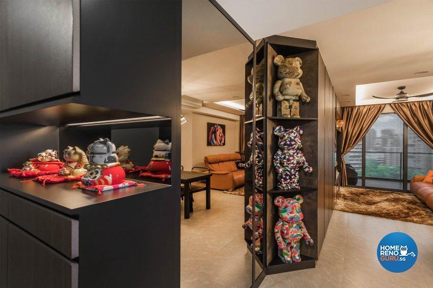 Contemporary, Rustic, Vintage Design -  - Condominium - Design by Renozone Interior Design House