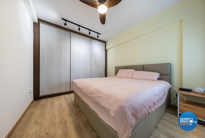 Modern Design - Bedroom - HDB 4 Room - Design by Renozone Interior Design House