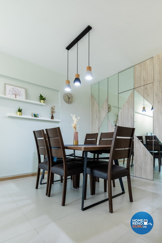Modern Design - Dining Room - HDB 4 Room - Design by Renozone Interior Design House