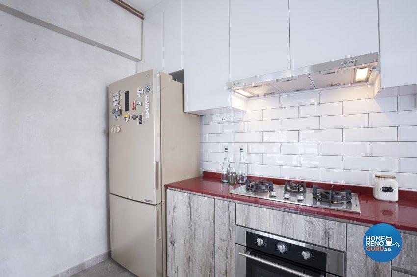 Scandinavian Design - Kitchen - HDB 4 Room - Design by Renozone Interior Design House