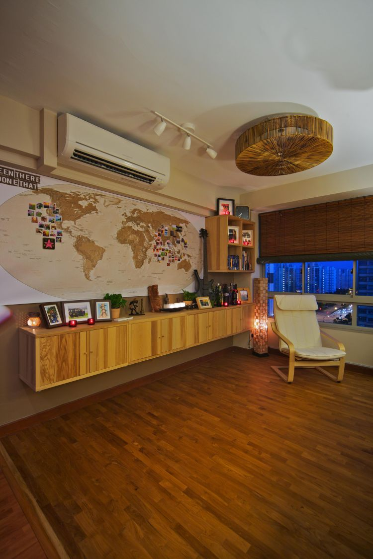 Study Room 40000: Singapore Interior Design Gallery Design Details