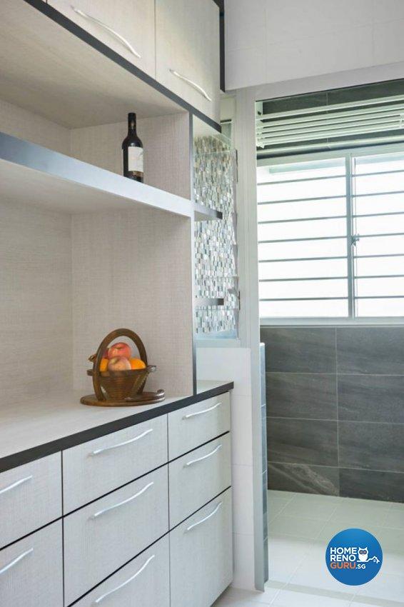 Contemporary, Modern, Scandinavian Design - Kitchen - HDB 3 Room - Design by Renozone Interior Design House