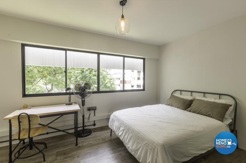 Scandinavian Design - Bedroom - HDB 4 Room - Design by Renozone Interior Design House