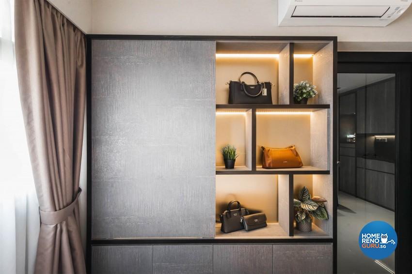 Industrial, Modern Design - Bedroom - HDB 3 Room - Design by Renozone Interior Design House
