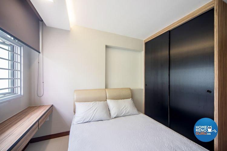 Contemporary, Scandinavian Design - Bedroom - HDB 5 Room - Design by Renozone Interior Design House
