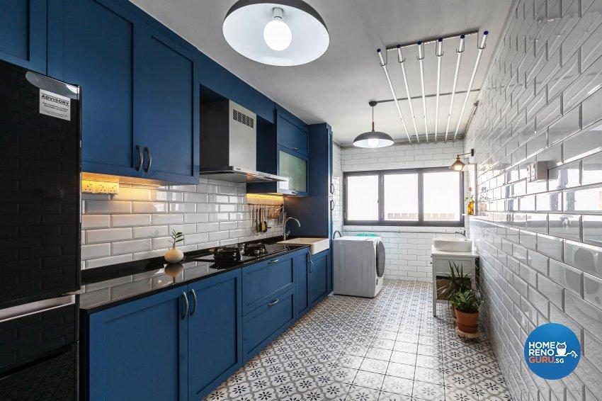 Rustic, Vintage Design -  - HDB 4 Room - Design by Renozone Interior Design House