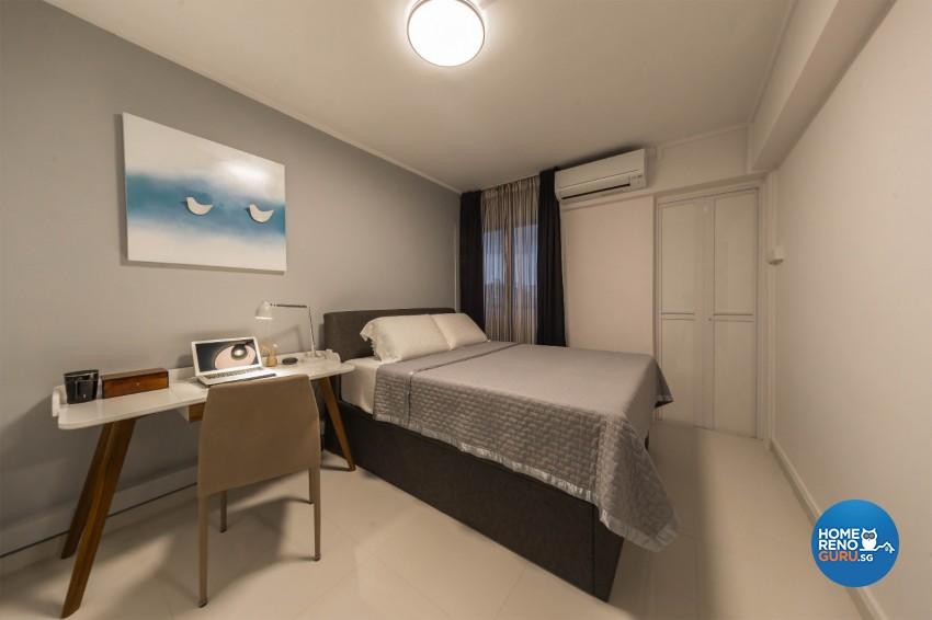Eclectic, Retro Design - Bedroom - HDB 4 Room - Design by Renozone Interior Design House
