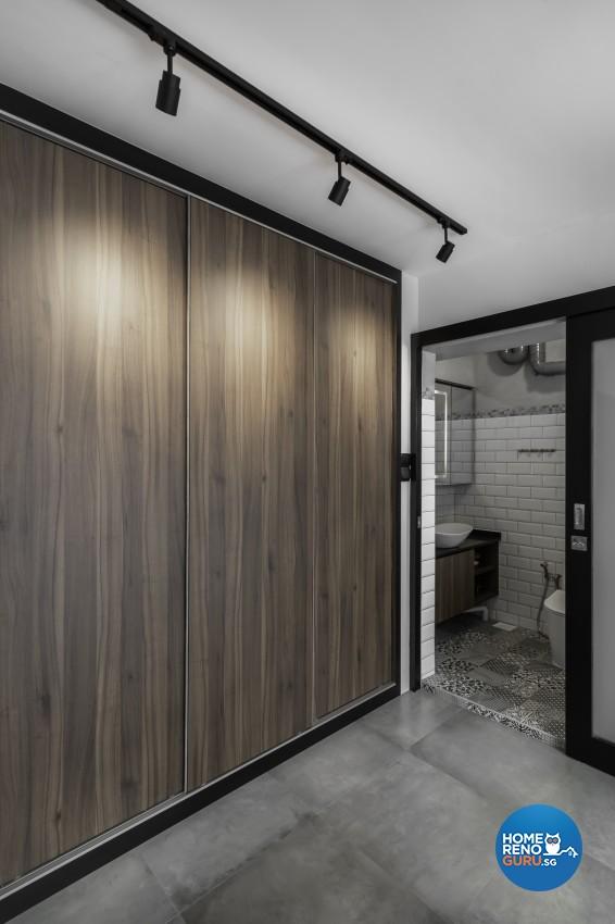 Industrial, Scandinavian Design - Bedroom - HDB 4 Room - Design by Renozone Interior Design House