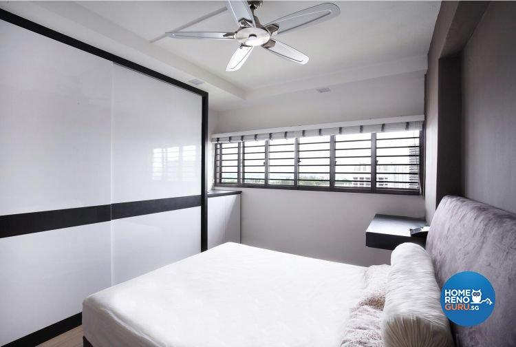 Contemporary, Minimalist, Modern Design - Bedroom - HDB 5 Room - Design by Renozone Interior Design House