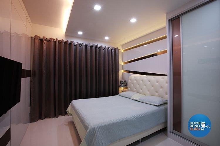 Contemporary, Modern Design - Bedroom - HDB 5 Room - Design by Renozone Interior Design House