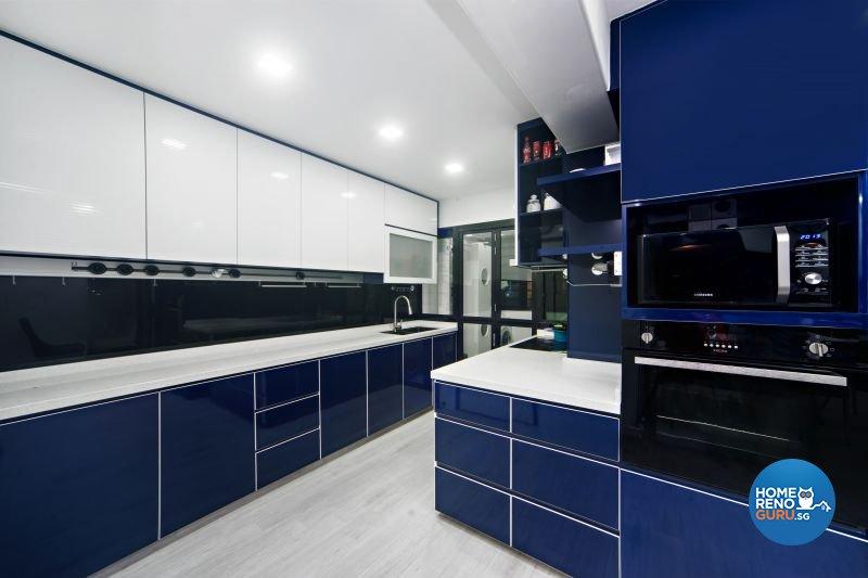 Classical, Contemporary, Modern Design - Kitchen - HDB 4 Room - Design by Renozone Interior Design House