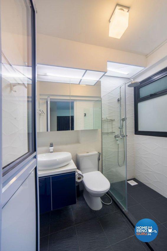 Classical, Contemporary, Modern Design - Bathroom - HDB 4 Room - Design by Renozone Interior Design House