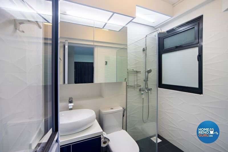 Classical, Contemporary, Modern Design - Bathroom - HDB 4 Room - Design by Renozone Interior Design House